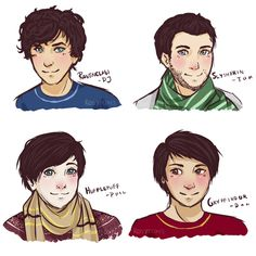 Hogwarts Youtubers by RosyFoxes