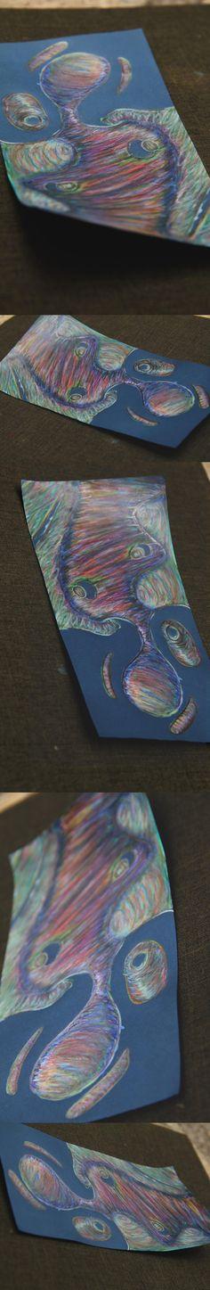 €du∆rdo √.- drawings, colored pencils,-