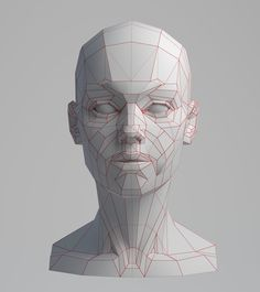 ArtStation - Planes of the Face [WIP], Aleksandrs K