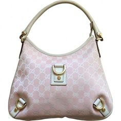 Pink Handbag Hobo GUCCI (€200) ❤ liked on Polyvore featuring bags, handbags, shoulder bags, leather man bags, leather hand bags, leather hobo shoulder bags, hobo hand bags and leather pouch
