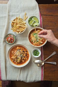 I find it a source of great comfort that pretty much every culture, every cuisine has its own interpretation of chicken soup.The Mexican version in