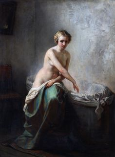 ? Nude in the bath