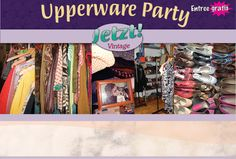 Het #jetztvintage #upperwareparty #fashion #vintage #clothing concept!