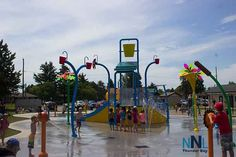 New Water Park ThrillsChildren and Parents THUNDER BAY – Fun for the family. In a word that is what parents are saying about Thunder Bay's newest splash pad at the North End Recreation Centre. For many Thunder Bay families, finding safe, fun, and affordable recreation opportunities in the summer presents a challenge. On Monday a …