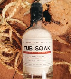 Dead Sea Salt Tub Soak