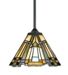 Gotham piccolo pendant by quoizel house facelift ideas pinterest pendant lamp in an arts and crafts style this would be perfect for mozeypictures Images