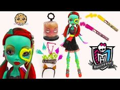 Create A Monster High Doll Design Lab Maker with Water Chamber Machine - Video - YouTube