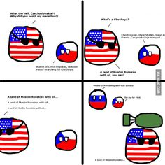 Chechnya and czech republic, Czech republic, u sneaky ball u Funny Pix, Funny Images, Best Funny Pictures, Hilarious, Funny Stuff, Vs The World, History Memes, Comic Panels, Fun Comics