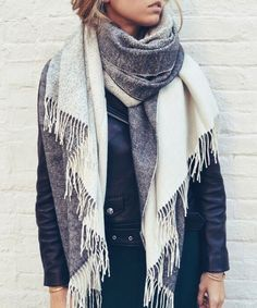 Casual winter outfit ideas for women, fashion cozy style blanket scarf, poncho scarf, Mode Outfits, Winter Outfits, Casual Outfits, Looks Style, Style Me, Look Fashion, Womens Fashion, Fall Fashion, Runway Fashion