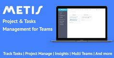 Metis - Team Collaboration and Project Management Platform . Metis - Team Collaboration and Project Management Platform
