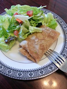 Delicious homemade whoel wheat tortillas, yum!