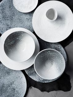 Product Design // grey and white ceramics // KH Wurtz DK - image by Stine Christiansen