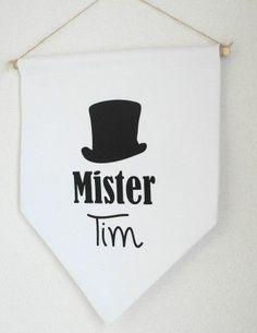 Stoere banner voor op de kinderkamer, of in de woonkamer, keuken, hal!!!