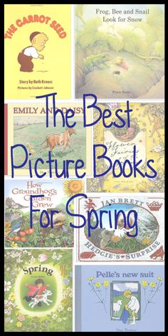These are some of our favorite spring picture books. Be sure to check our other recommended reading lists for book for all seasons and holidays!