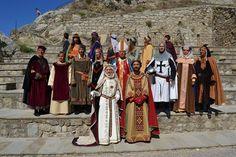 La corte di Federico D'Aragona III RE DI SICILIA