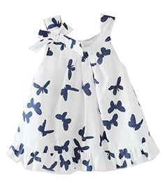 """Material: Cotton Please see the size chart clearly before you bid! Package:1 Piece of Baby Girl Gown Formal Dress{lang: """"""""}"""