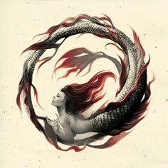 oroboros mermaid