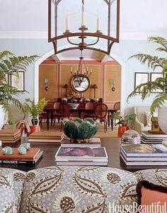 Balanced Living Room wall
