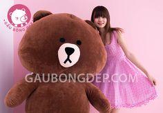 Gấu BROWN size lớn màu nâu socola đẹp nhất | Gấu Bông Đẹp
