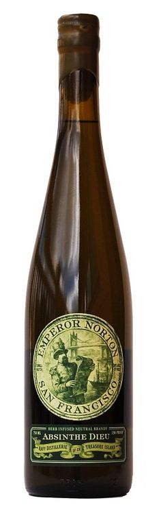 Emperor Norton Absinthe Dieu. San Francisco absinthe. Would like to try!