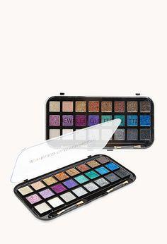 Jewel Tone Glitter Eye Palette | FOREVER21. Want it soooo much!!!