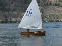 12' Wooden Racing Dinghy, 1947
