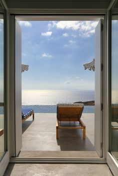 Room with a view | Summer House in Syros