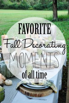 Favorite Fall Decorating Moments of All Time