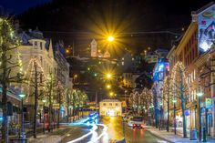 Streets ready for Christmas in Bergen. We Love Bergen  Photo by: Paulius Bruzdeilynas