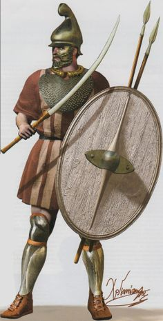 2nd c. BC Thracian mercenary by C.Giannopoulos