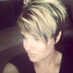 "Short Hairstyles [ ""Pixie c 