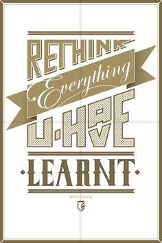Rethink... on Behance