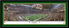 Super Bowl XLV Champions Rob Arra Panoramic Poster Green Bay Packers vs. Pittsburgh Steelers February 6, 2011, Arlington, Texas. #ThePack