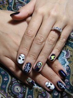 Harry Potter nails,  Go To www.likegossip.com to get more Gossip News!