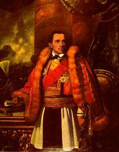 Prince Danilo I Petrović-Njegoš (Cyrillic: Данило Петровић-Његош), (known once as Vladika Danilo II), (25 May 1826, Njeguši, Montenegro – 13 August 1860, Kotor, Austria-Hungary in today's Montenegro), son of Stanko Petrović-Njegoš and wife Krstinja Vrbica.