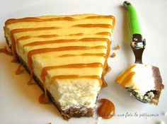 Recette du cheesecake aux spéculoos : Il était une fois la pâtisserie Cheesecake Vanille, Cheesecake Cookies, Creme Brulee, How Sweet Eats, Sweet Desserts, Cheesecakes, Caramel, Buffet, Good Food