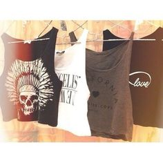 Brandy Melville Crop tops.