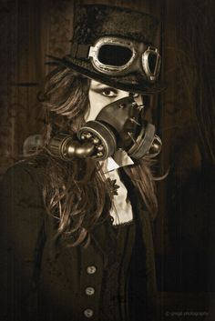 full-steam-ahead:    Steam Punk II OLD PRINT by ~gregd-photography  - steampunk - ☮k☮