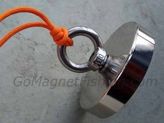 Magnet Fishing In 2019 - Ultimate Guide To Neodymium Magnet Fishing Fishing Knots, Fishing Tips, Strong Knots, Magnet Fishing, Rv Camping Tips, Metal Detecting, Neodymium Magnets, Water Crafts, Band Camp