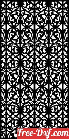 decorative panel wall separator door pattern g8tiw High quality free Dxf files, Svg, Cdr and Ai Ready to cut for laser Cnc plasma and Download Instantly Doors, Windows, Panel Window Panels, Panel Doors, Wall Separator, Partition Door, Decorative Screen Panels, Laser Cut Panels, Cnc Plasma, Vinyl Cutter, Door Wall