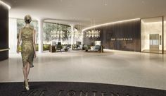 The Fontenay luxury hotel, reception