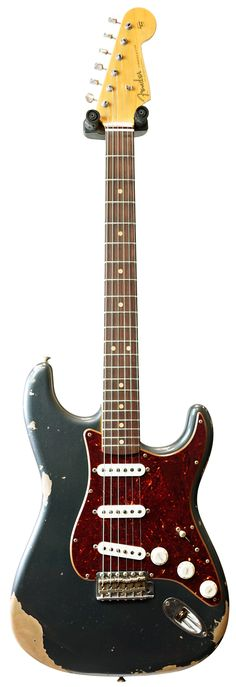 Buy the Fender Custom Shop 1962 Mid Boost Strat Heavy Relic Charcoal Frost Metallic Tortoise Pickguard and get free delivery. Shop with the UK's largest guitar dealer today. Fender Stratocaster, Fender Guitars, Acoustic Guitars, Guitar Shop, Music Guitar, Cool Guitar, Banjo, Vintage Guitars For Sale, Guitar Images