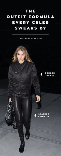 The Outfit Formula Everyone From Gigi Hadid to Olivia Palermo Swears By. #fashiontrends #celebritystyle