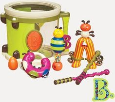 Shop for B Toys – Parum Pum Pum – Toy Drum Kit With 7 Musical Instruments For Kids 18 Months + Starting from Choose from the 2 best options & compare live & historic toys and game prices. Toddler Toys, Baby Toys, Kids Toys, Toddler Gifts, Toddler Fun, Kids Gifts, Babies R Us, Learn Drums, Kids Drum Set