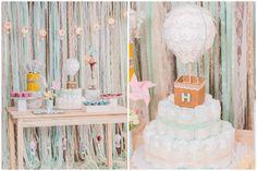 Chá de bebê | Balões e Cataventos {Fotografia: Juliana Madalosso | Decoração: a própria mamãe, Ateliê da Gaby}