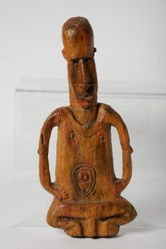 shopgoodwill.com: New Zealand Aborigine Fertility Figure Sculpture