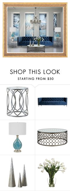 """Untitled #354"" by amazing-yessi ❤ liked on Polyvore featuring interior, interiors, interior design, home, home decor, interior decorating, Madison Park, ModShop, Allstate Floral and Swarovski"