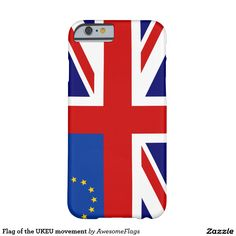 Flag of the UKEU movement Barely There iPhone 6 Case