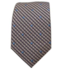 """The Tie Bar French Kiss 100% Woven Silk Light Champagne 3"""" Tie"""