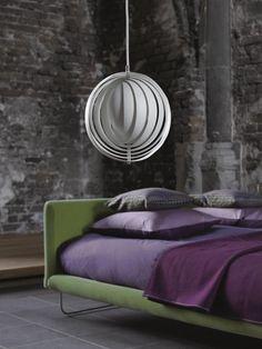 Moon Lamp Verner Panton by Verpan Diam Arne Jacobsen, Pendant Lamp, Pendant Lighting, Origami Lamp, Scandinavia Design, Danish Design Store, Contemporary Pendant Lights, Interior Decorating, Interior Design